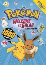 Pokemon Welcome to Galar 1001 Sticker Book
