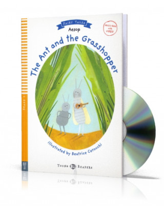 Young ELI Readers 1/A1: The Ant and The Grasshopper + Downloadable Multimedia