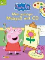 Peppa: Mein wutziger Malspaß mit CD