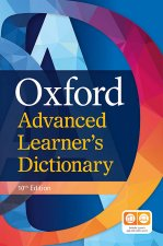 Oxford Advanced Learner's Dictionary Hardback (with 1 year's access to both premium online and app), 10th