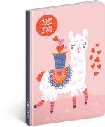 18měsíční diář Petito – Lama 2020/2021