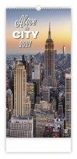 Kalendář 2021 nástěnný Exclusive: Above the City, 315x630