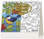 Kalendář 2021 stolní: MiniMax Omalovánka/Maľovanky, 171x139