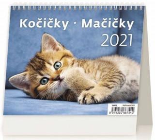 MiniMax Kočičky/Mačičky - stolní kalendář 2021