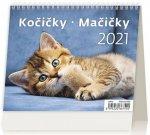 Kalendář 2021 stolní: MiniMax Kočičky/Mačičky, 171x139