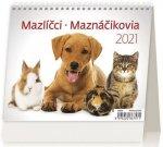 Kalendář 2021 stolní: MiniMax Mazlíčci/Maznáčikovia, 171x139