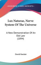 Lux Naturae, Nerve System Of The Universe: A New Demonstration Of An Old Law (1894)