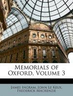 Memorials of Oxford, Volume 3