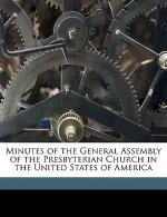 Minutes of the General Assembly of the Presbyterian Church in the United States of America Volume 1883
