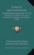 Zywoty Arcybiskupow Gnieznienskich V1-2: Prymasow Korony Polskiej I Wielkiego Ksiestwa Litewskiego (1860)