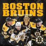 Boston Bruins 2021 12x12 Team Wall Calendar