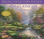 Thomas Kinkade Special Collector's Edition with Scripture 2021 Deluxe Wall Calen