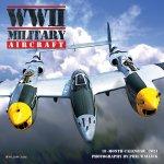 WWII Military Aircraft 2021 Mini Wall Calendar