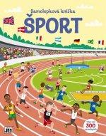 Samolepková knižka Šport