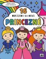 16 obrázkov na okná Princezné