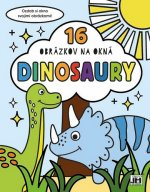 16 obrázkov na okná Dinosaury