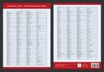 Anglický jazyk - Přehled nepravidelných sloves - Přehledová tabulka učiva