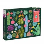 Desert Flora 1000 Piece Puzzle with Shaped Pieces