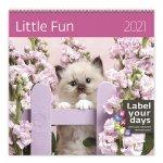 Little Fun - nástěnný LP kalendář 2021