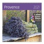 Provence - nástěnný LP kalendář 2021
