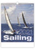 Sailing - nástěnný kalendář 2021