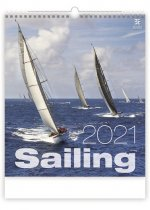 Kalendář 2021 nástěnný Exclusive: Sailing, 450x520