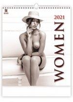 Kalendář 2021 nástěnný Exclusive: Women, 450x520