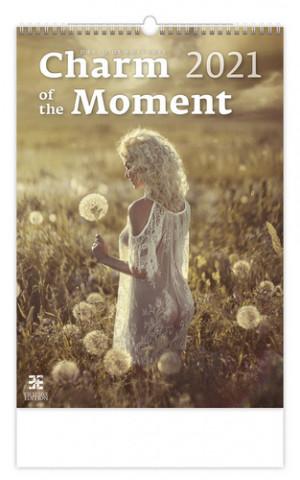 Kalendář 2021 nástěnný Exclusive: Charm of the Moment, 340x485