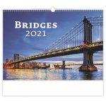 Bridges - nástěnný kalendář 2021