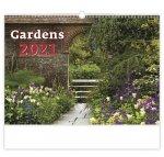 Gardens - nástěnný kalendář 2021