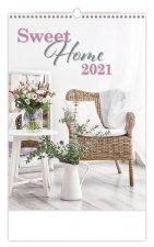 Sweet Home - nástěnný kalendář 2021