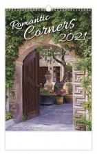 Romantic Corners - nástěnný kalendář 2021
