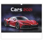 Kalendář 2021 nástěnný: Cars, 450x315