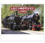 Locomotives - nástěnný kalendář 2021