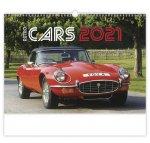 Kalendář 2021 nástěnný: Retro Cars, 450x315