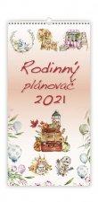 Kalendář 2021 nástěnný: Rodinný plánovač, 315x630