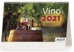 Víno ČR/SR - stolní kalendář 2021