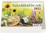 Kalendář 2021 stolní: Záhradkářův rok, 226x139