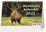 Kalendář 2021 stolní: Myslivecký kalendář, 226x139