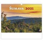 Šumava - nástěnný kalendář 2021