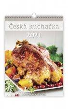 Česká kuchařka - nástěnný kalendář 2021