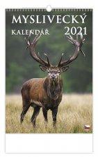 Kalendář 2021 nástěnný: Myslivecký kalendář, 315x450