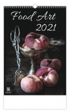 Food Art - nástěnný kalendář 2021