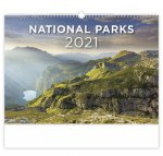National Parks - nástěnný kalendář 2021