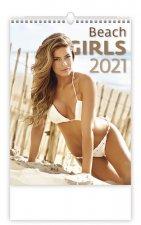 Beach Girls - nástěnný kalendář 2021