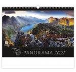 Kalendář 2021 nástěnný Exclusive: Tatry Panorama, 485x340