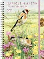 Marjolein Bastin Nature's Inspiration 2021 Monthly/Weekly Planner Calendar