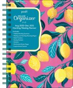 Posh: Deluxe Organizer 17-Month 2020-2021 Monthly/Weekly Planner Calendar: Lemondrops