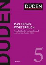 Duden 05 - Das Fremdwörterbuch