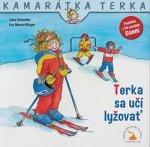 Terka sa učí lyžovať